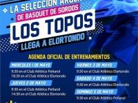 """Llegan a Elortondo """"Los Topos"""" - Selección de Basquet de Sordos"""